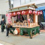 【小須戸】喧嘩燈籠祭り